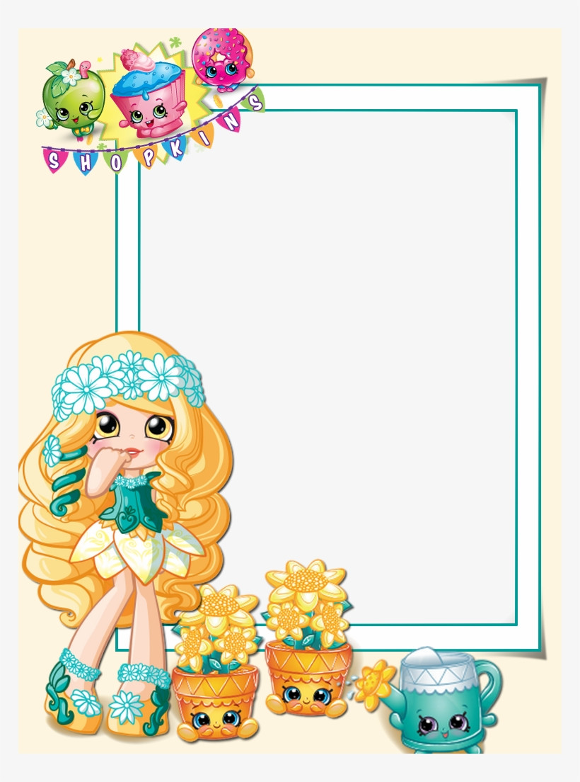 Shopkins Birthday Invitation Template