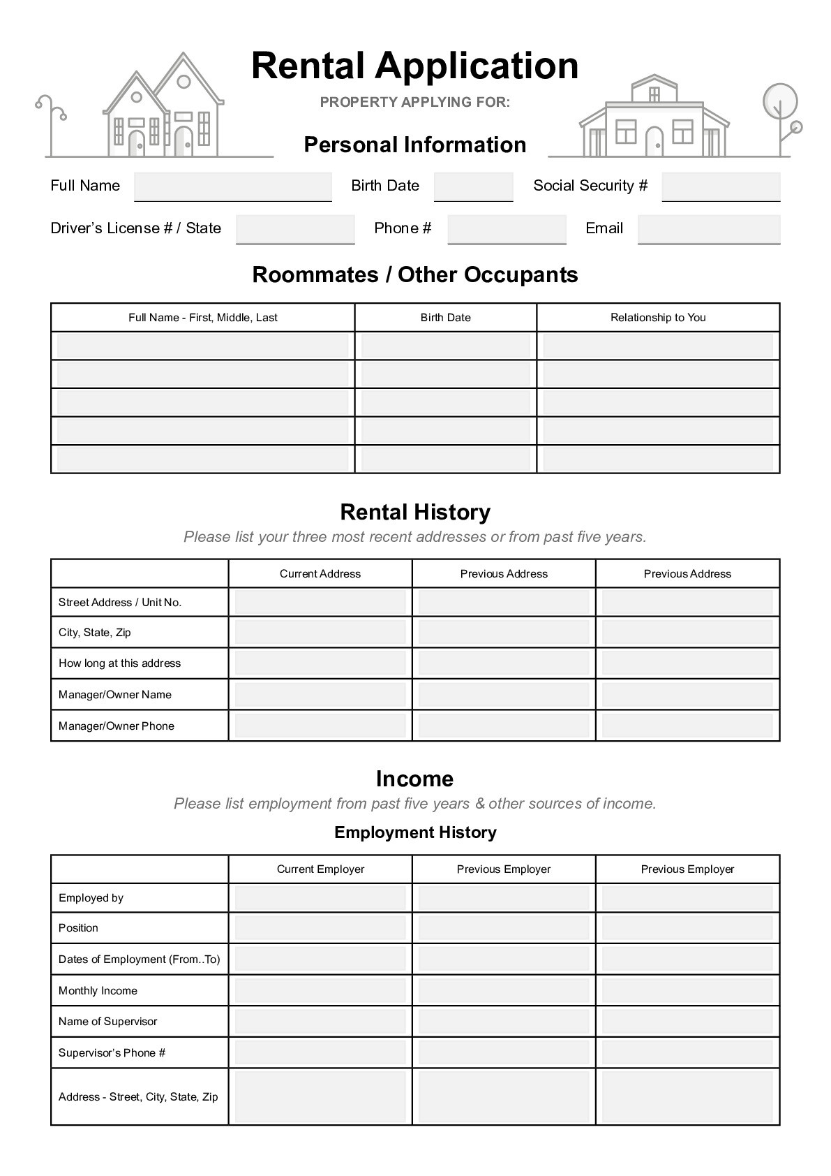 Snow Removal Contracts Template