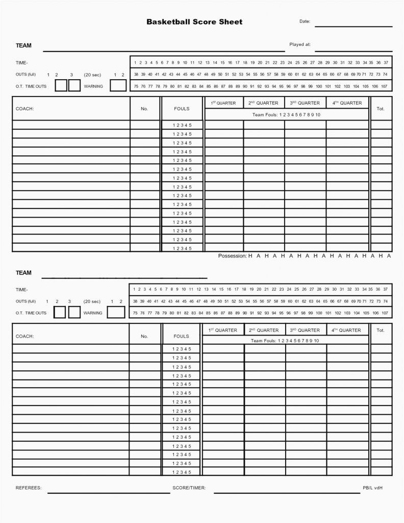 Softball Lineup Template Excel