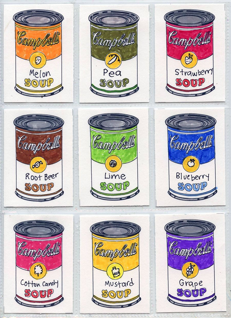 Soup Can Label Template