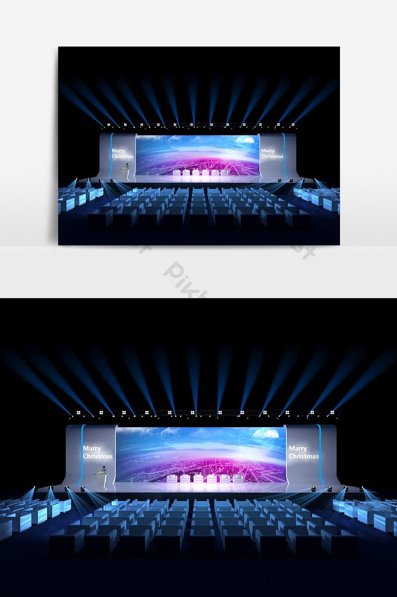 Stage Set Design Template
