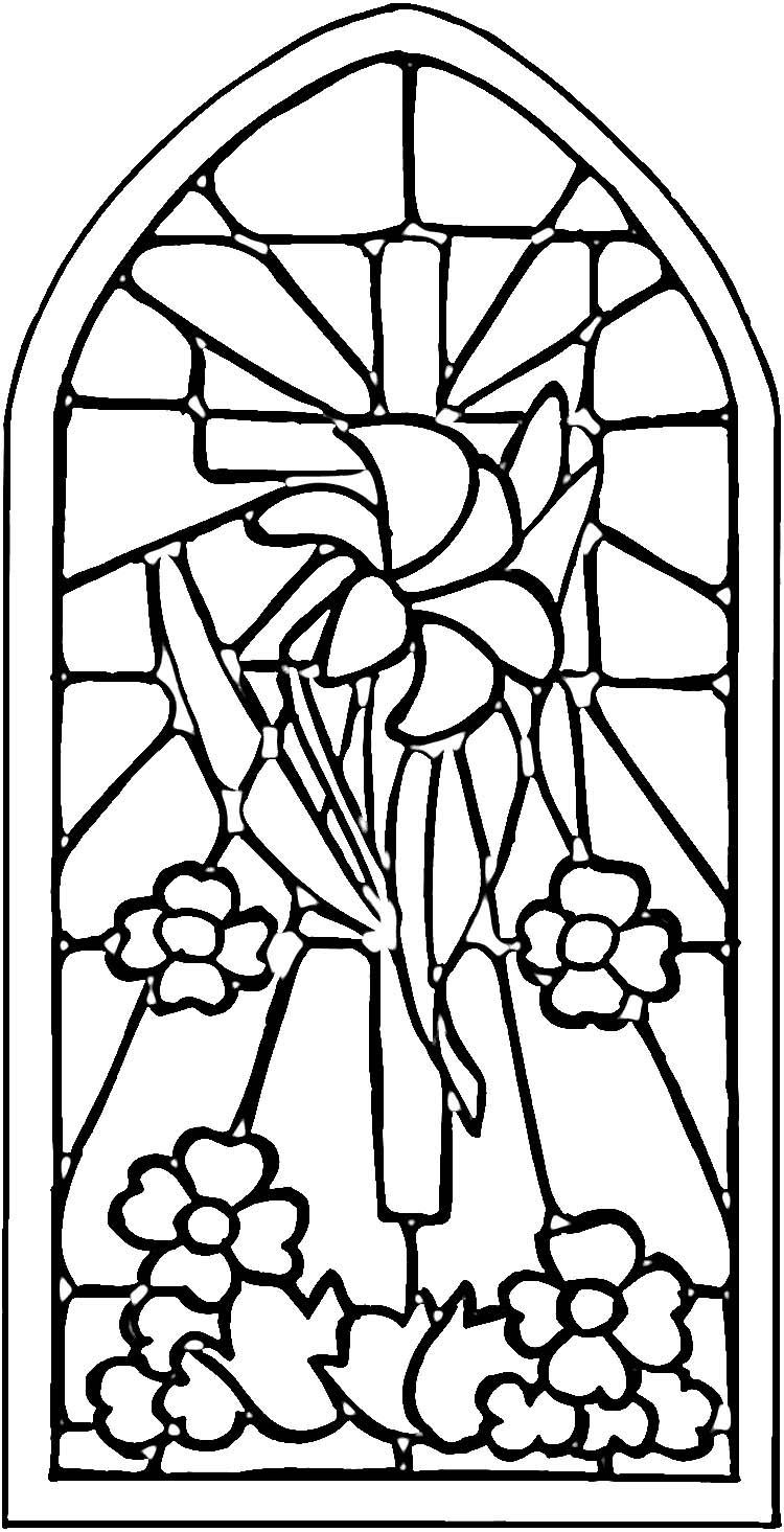 Christian Stained Glass Patterns