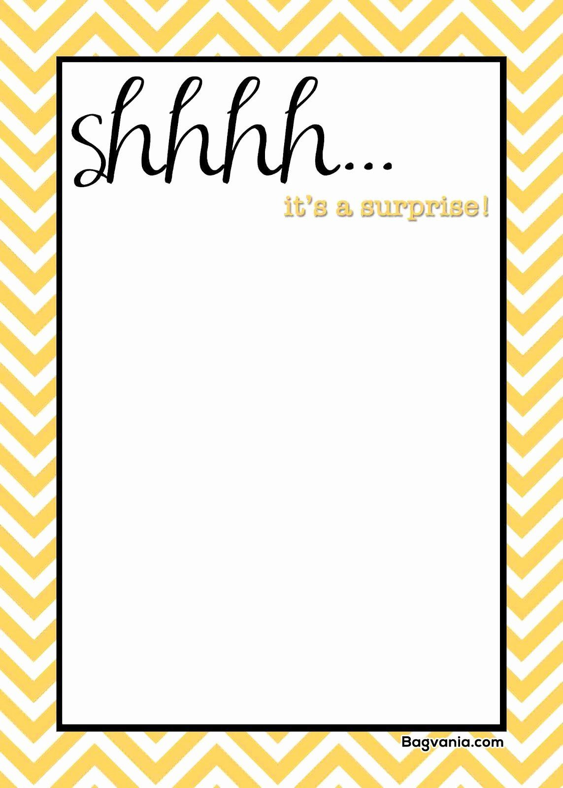 New Party Invitation Template Free Printable in 2020