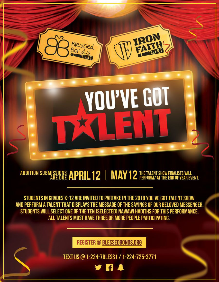 Contest Entry 31 for Design a Flyer Talent Show