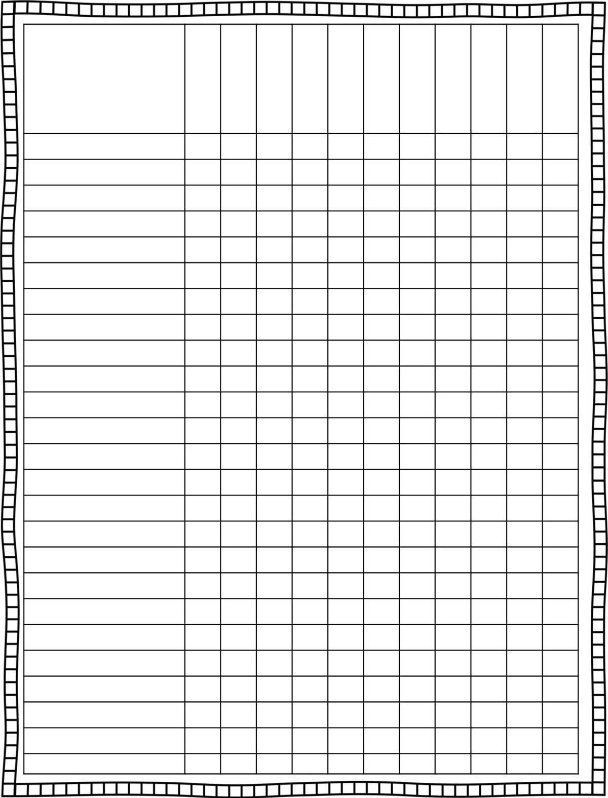 Teacher Planning Book Template