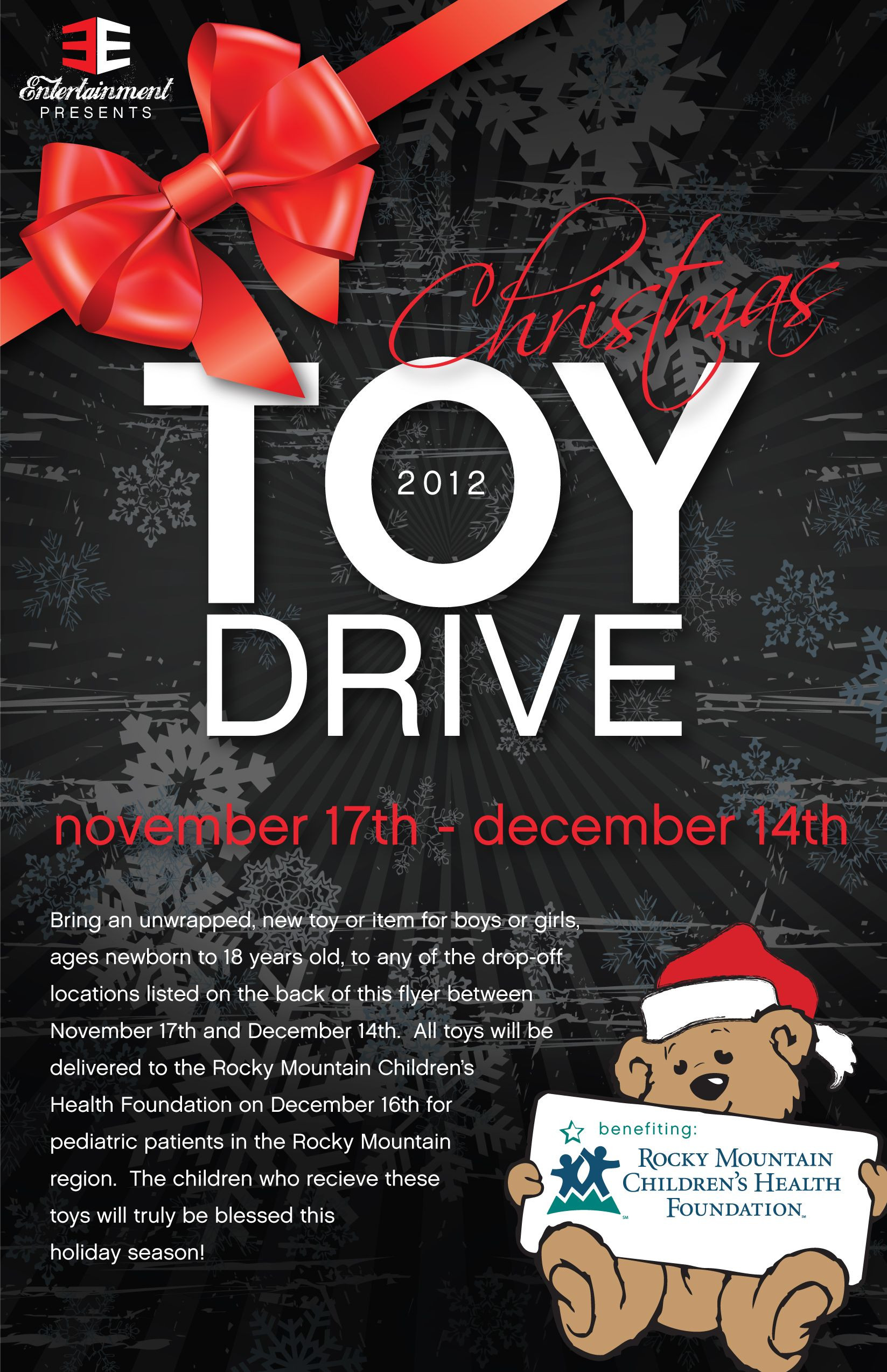 toy drive flyer Google Search