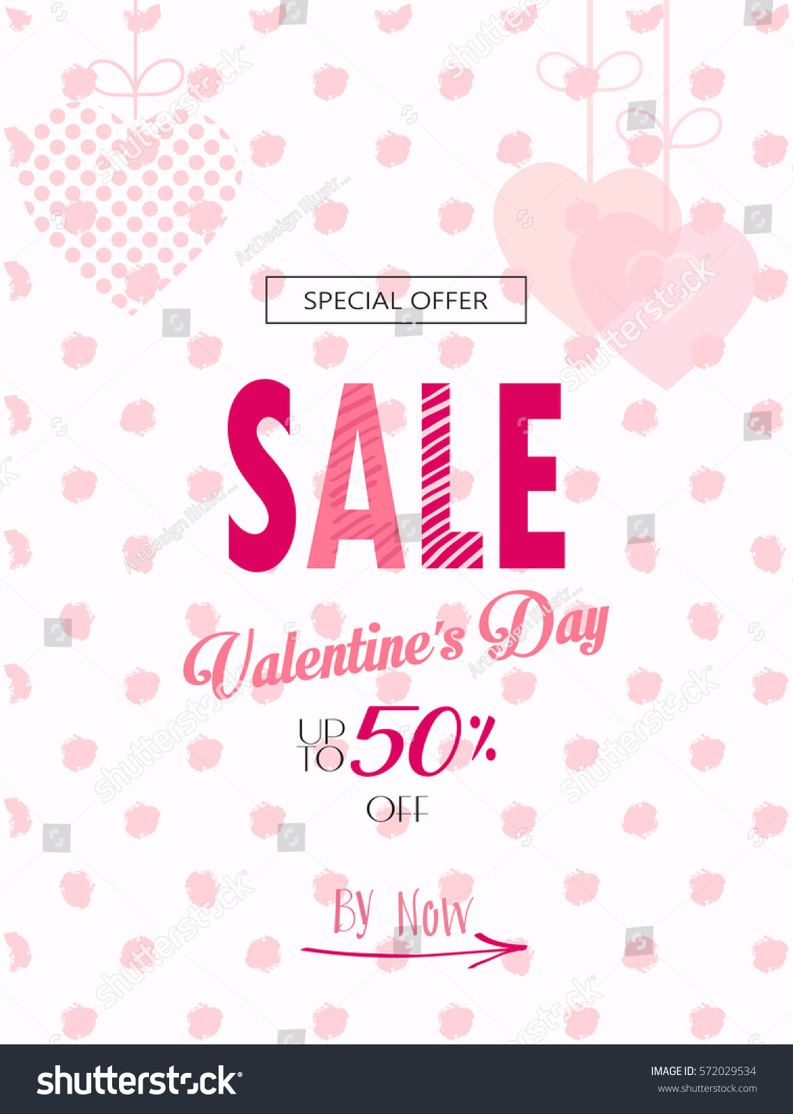 Valentine Day Coupon Template