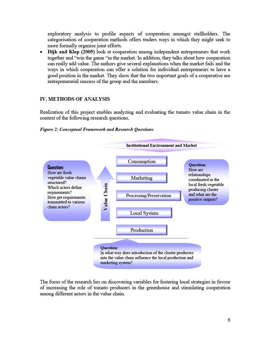 Value Chain Analysis Template
