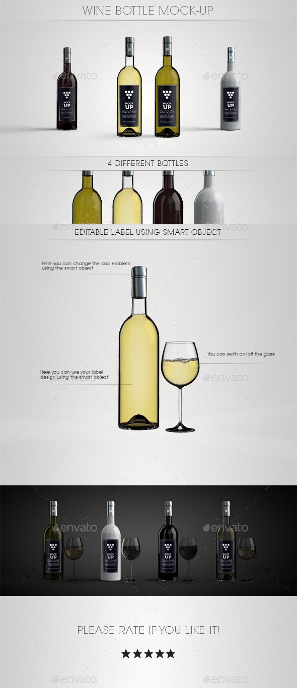 Wine Bottle Tag Template