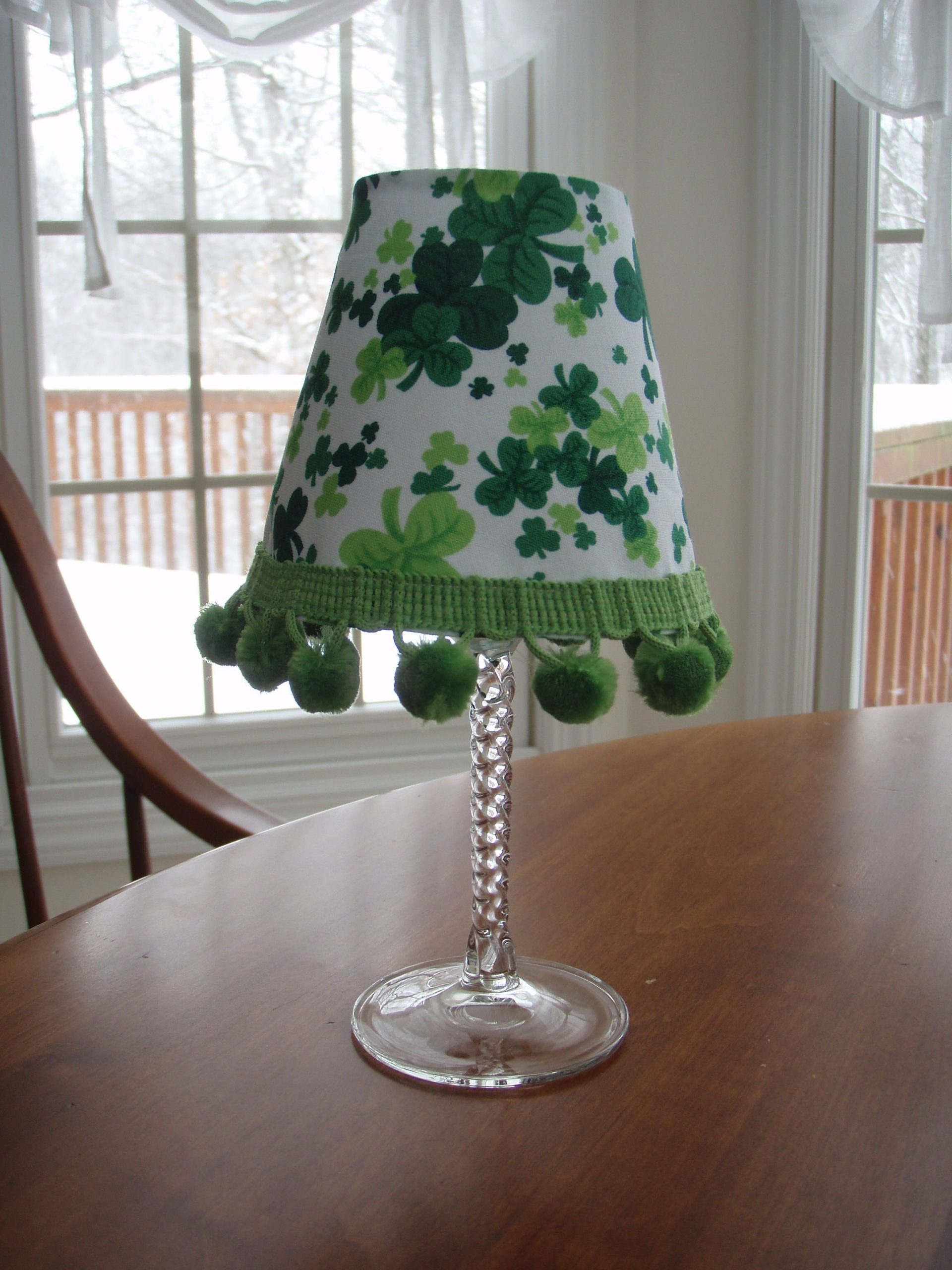 Wine Glass Lampshade Template