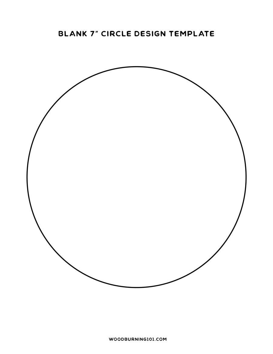 2 Inch Circle Template