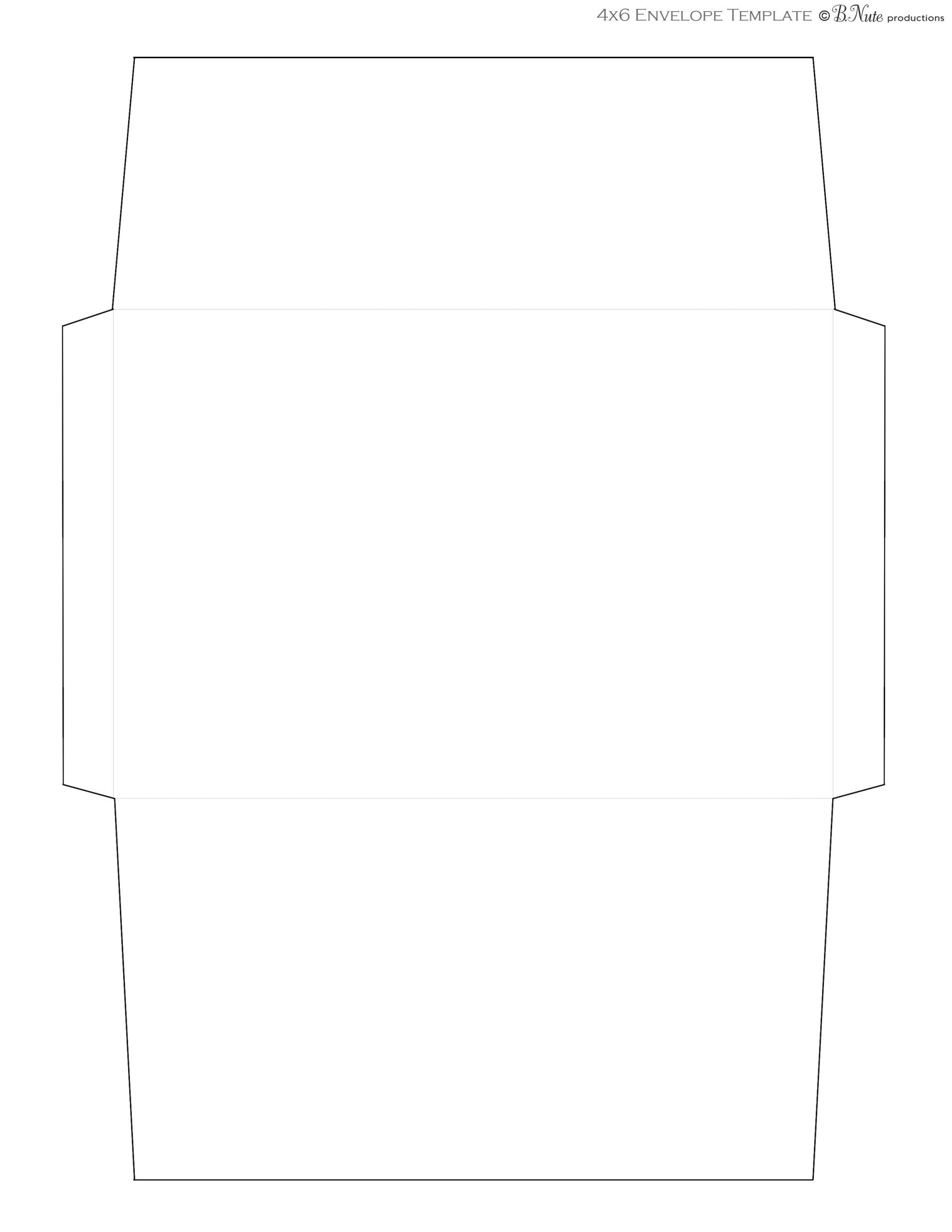 4x6 Note Card Template