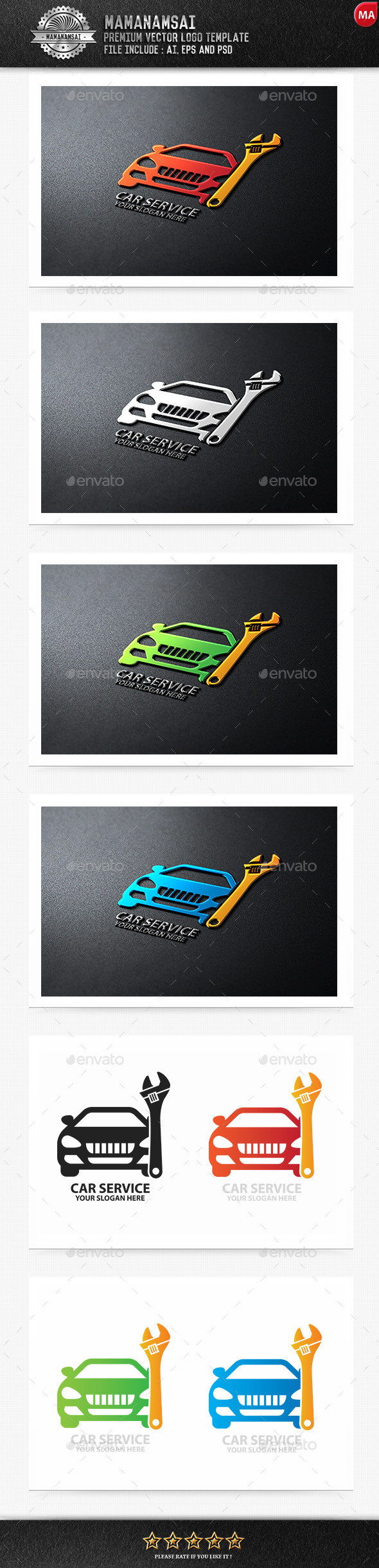 Car Detailing Logo Graphics Designs & Templates