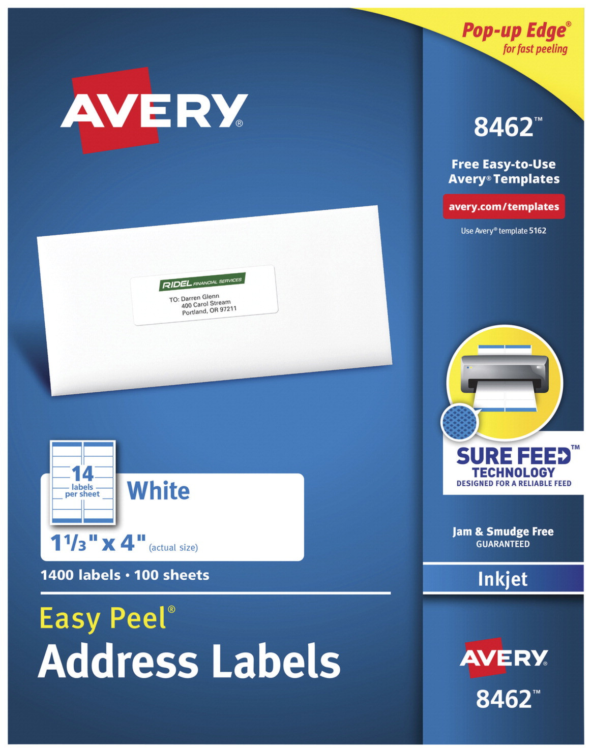 Avery Mailing Label Template