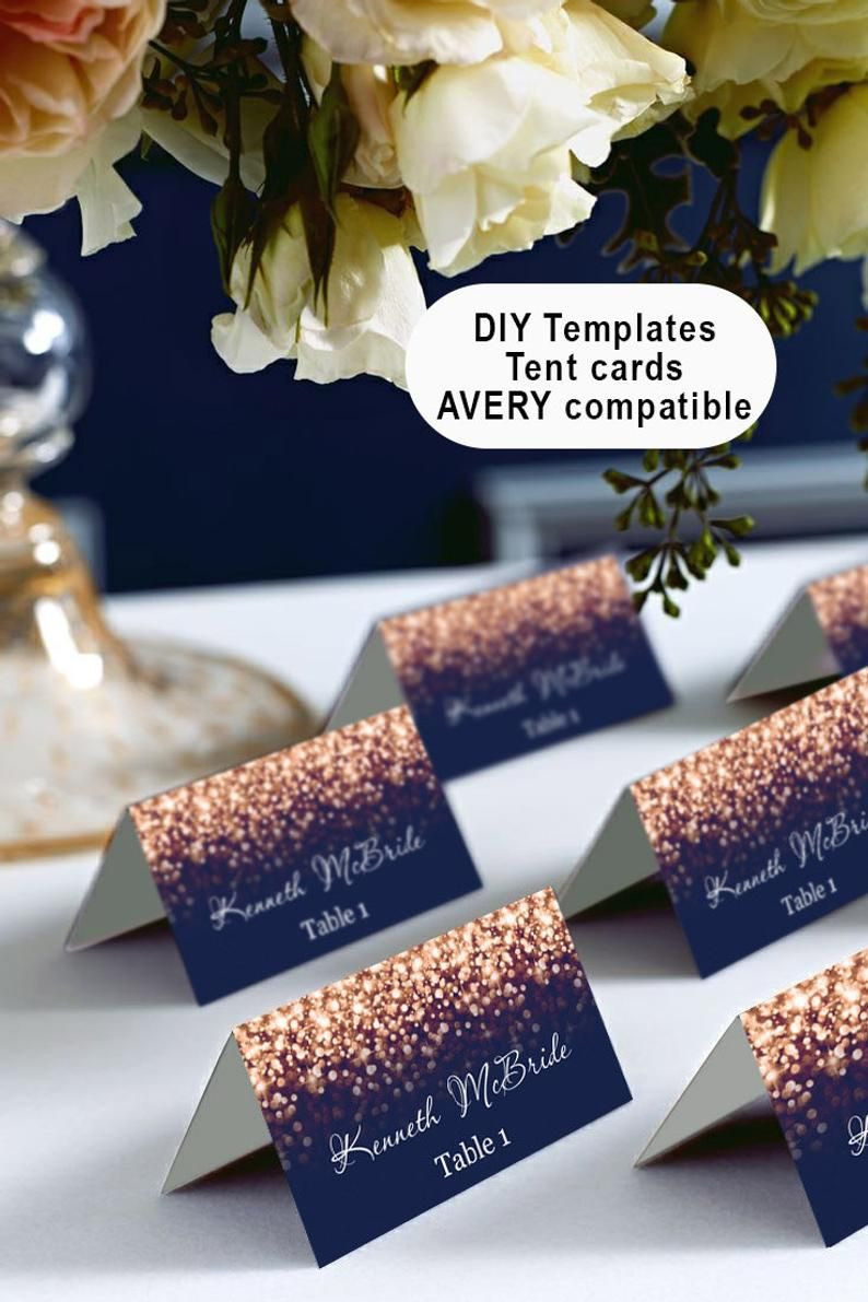 Avery Place Cards Template