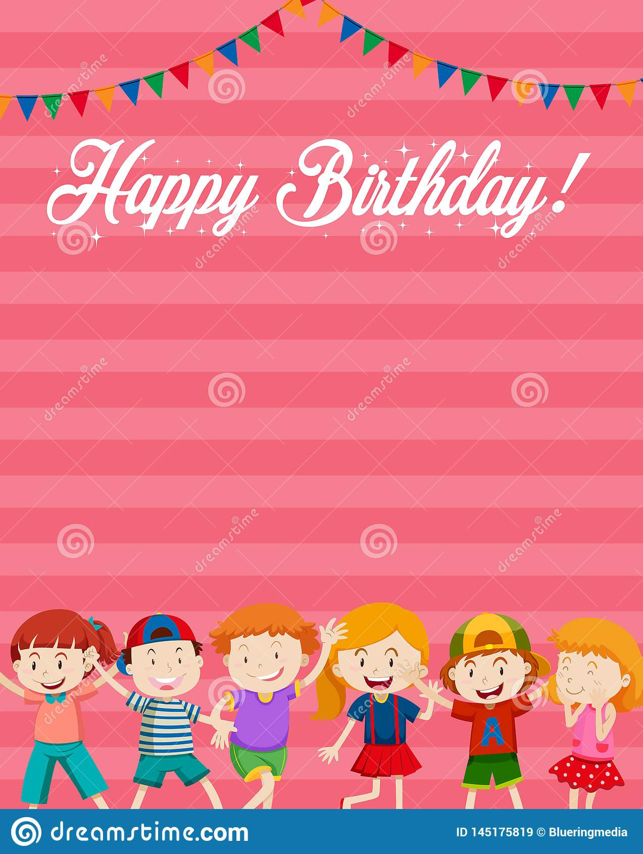 Birthday Card Template Free