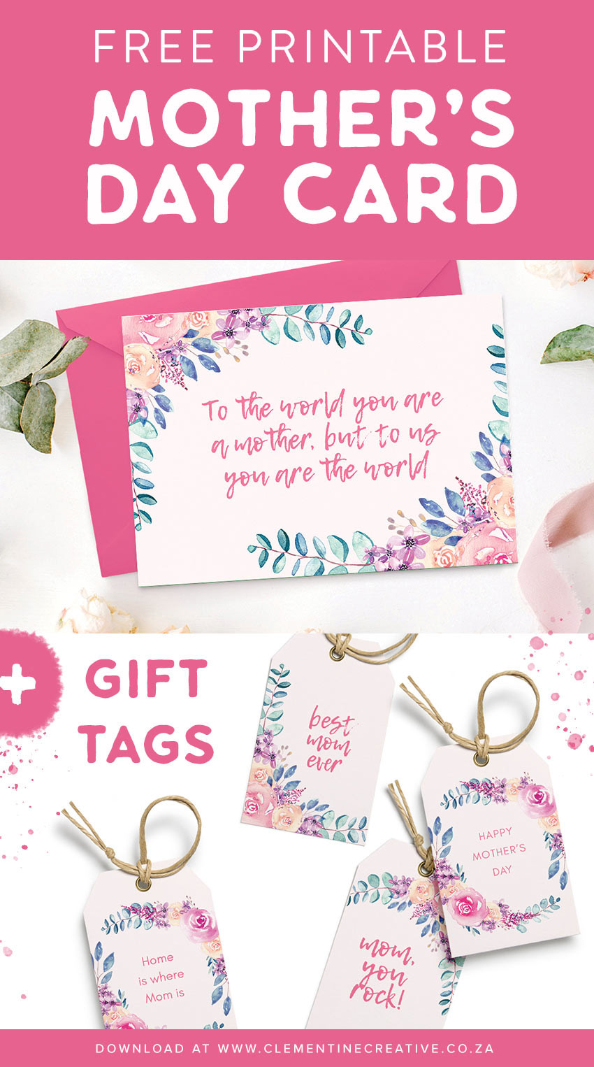 Birthday Gift Tag Template
