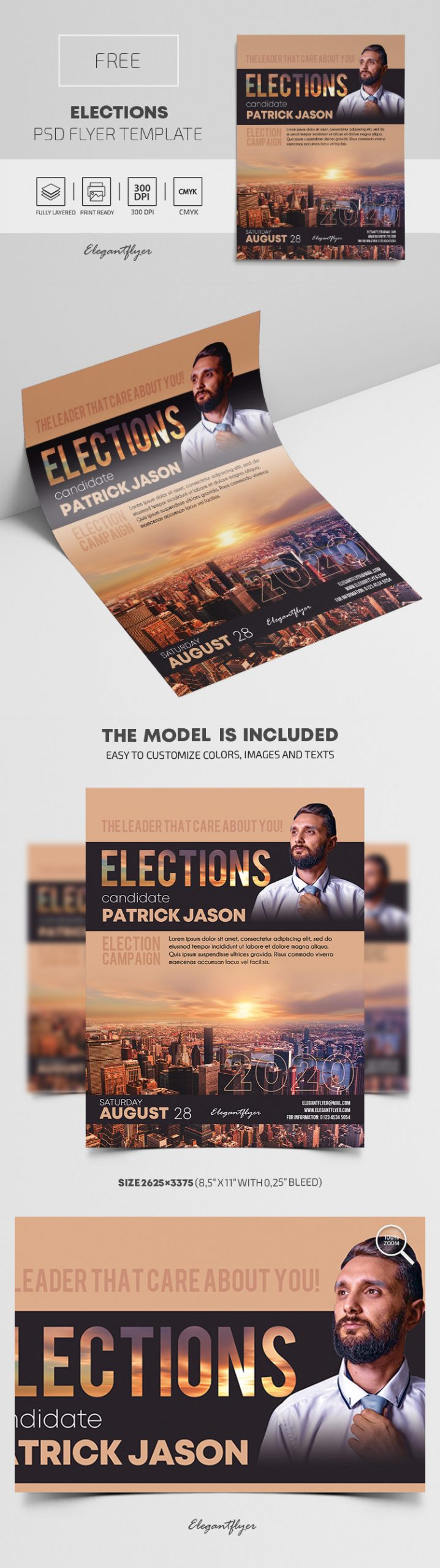 Campaign Flyer Template Free