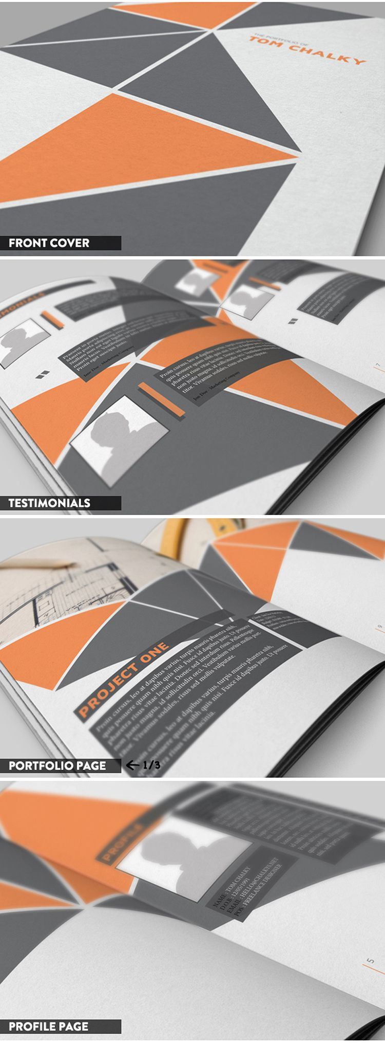 Case Study Template Design