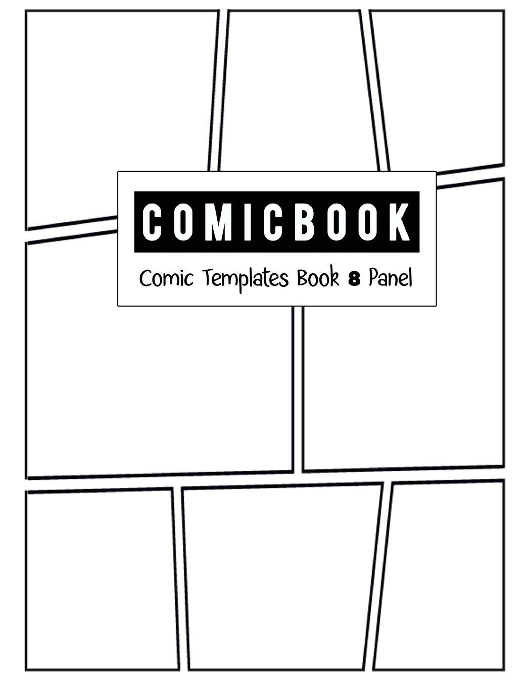 Comic Book Strips Template