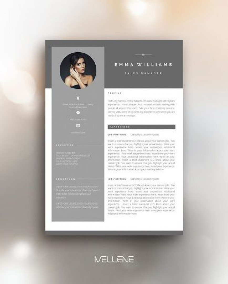 Comp Card Template Free