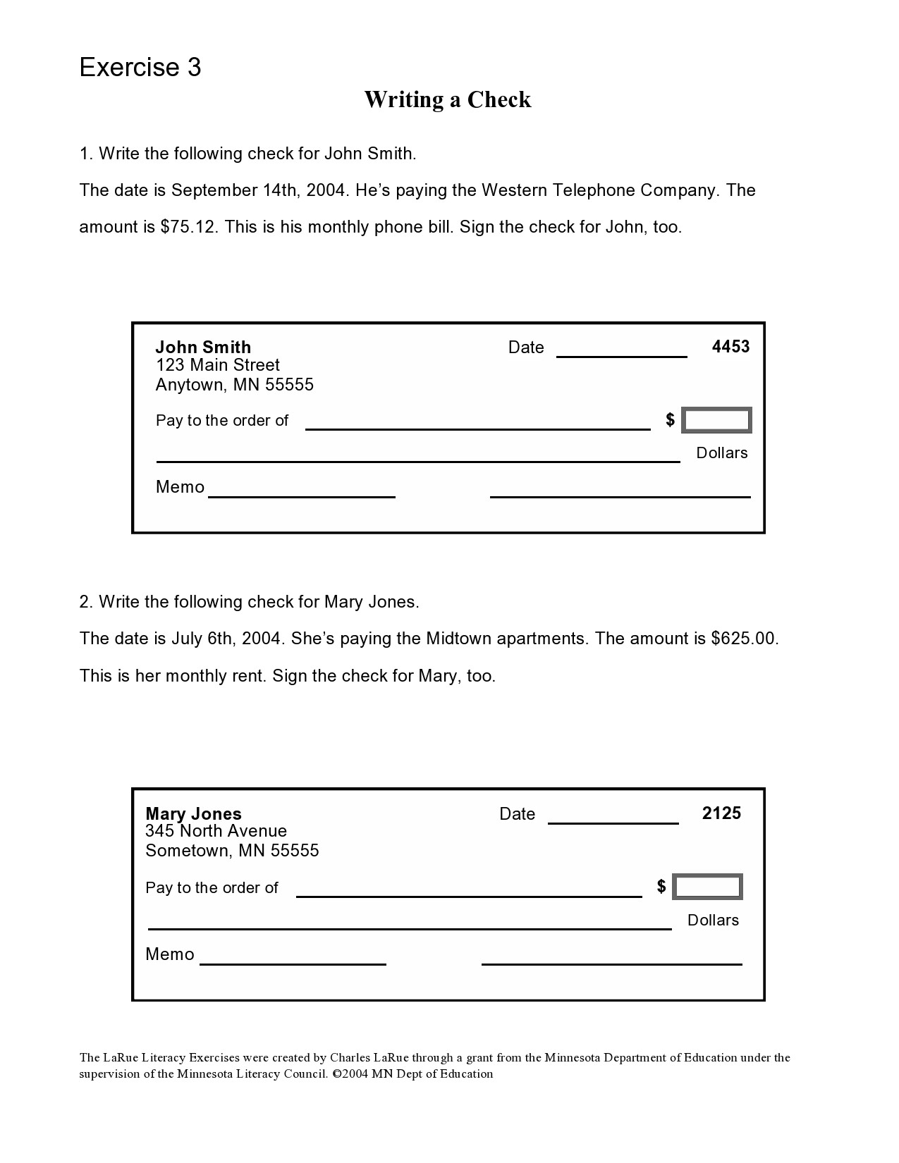Fake Cashiers Check Template