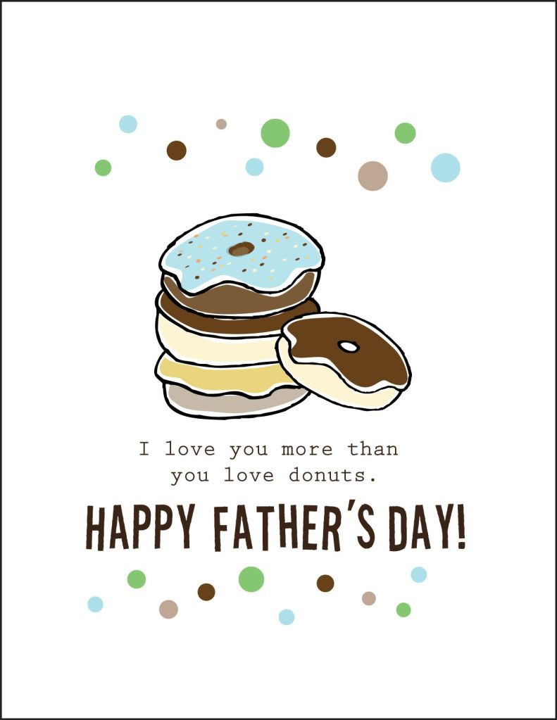 Fathers Day Card Template