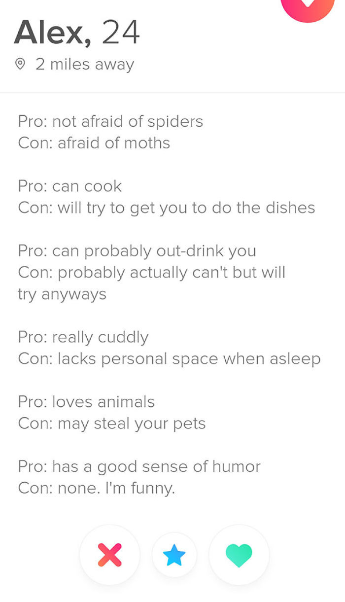 Female Dating Profile Template