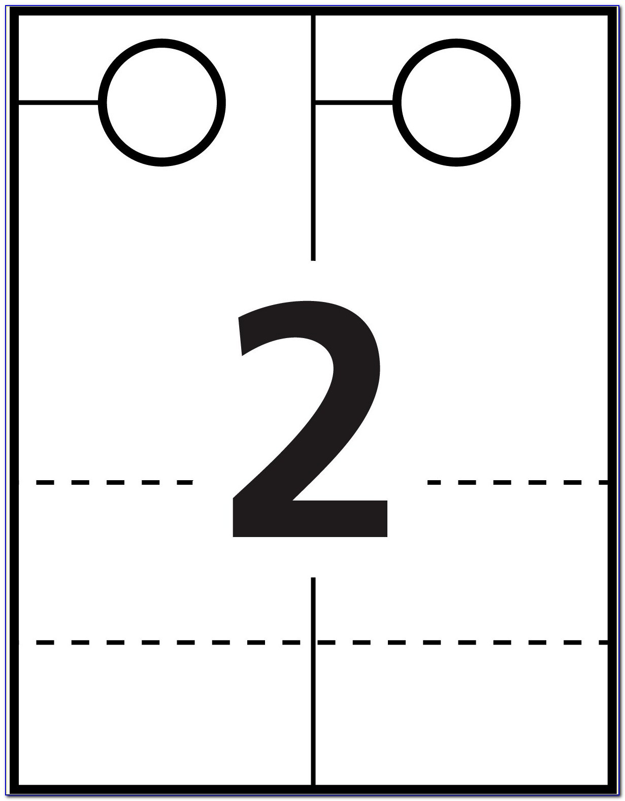Free Door Hanger Template