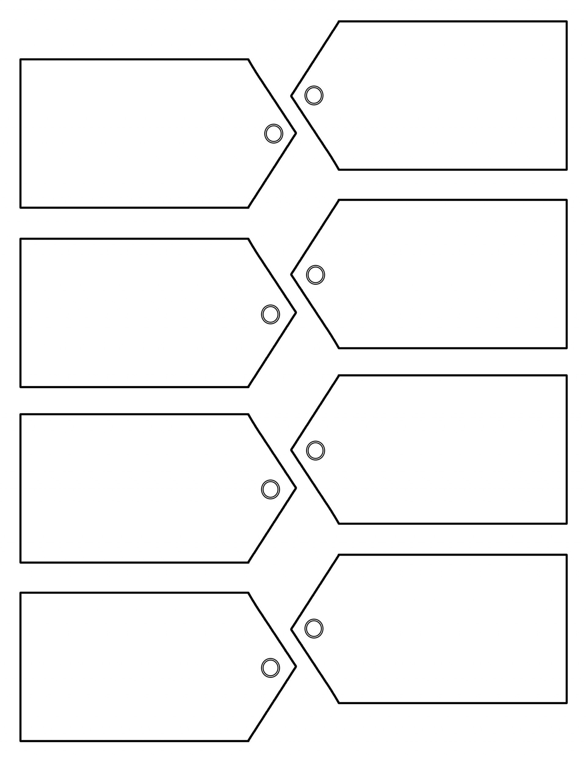 Free Favor Tag Template