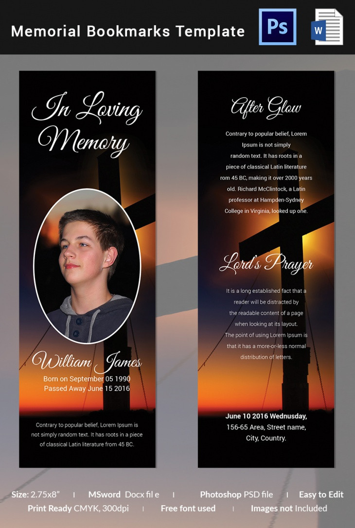 Free Funeral Template Download