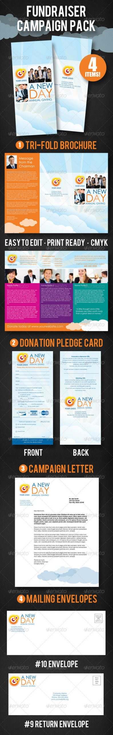 Free Pledge Card Template