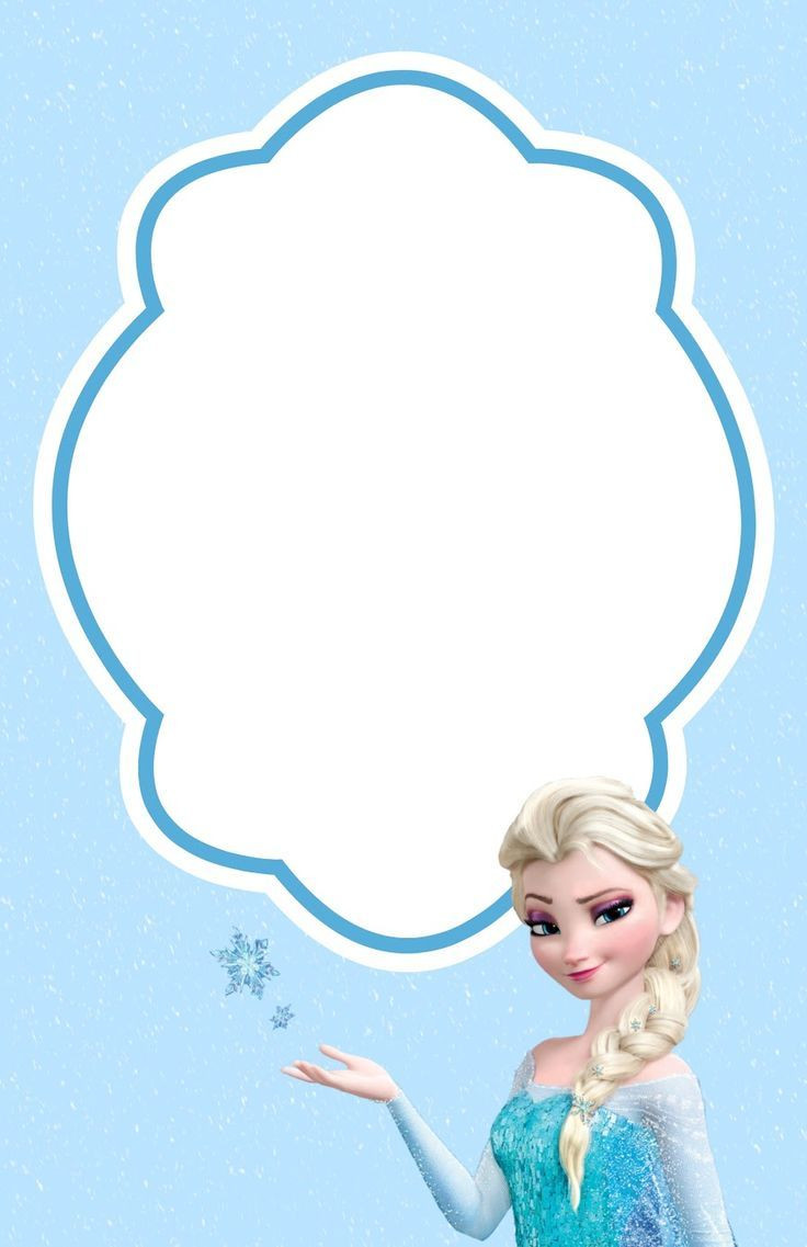 Frozen Invitations Template Free