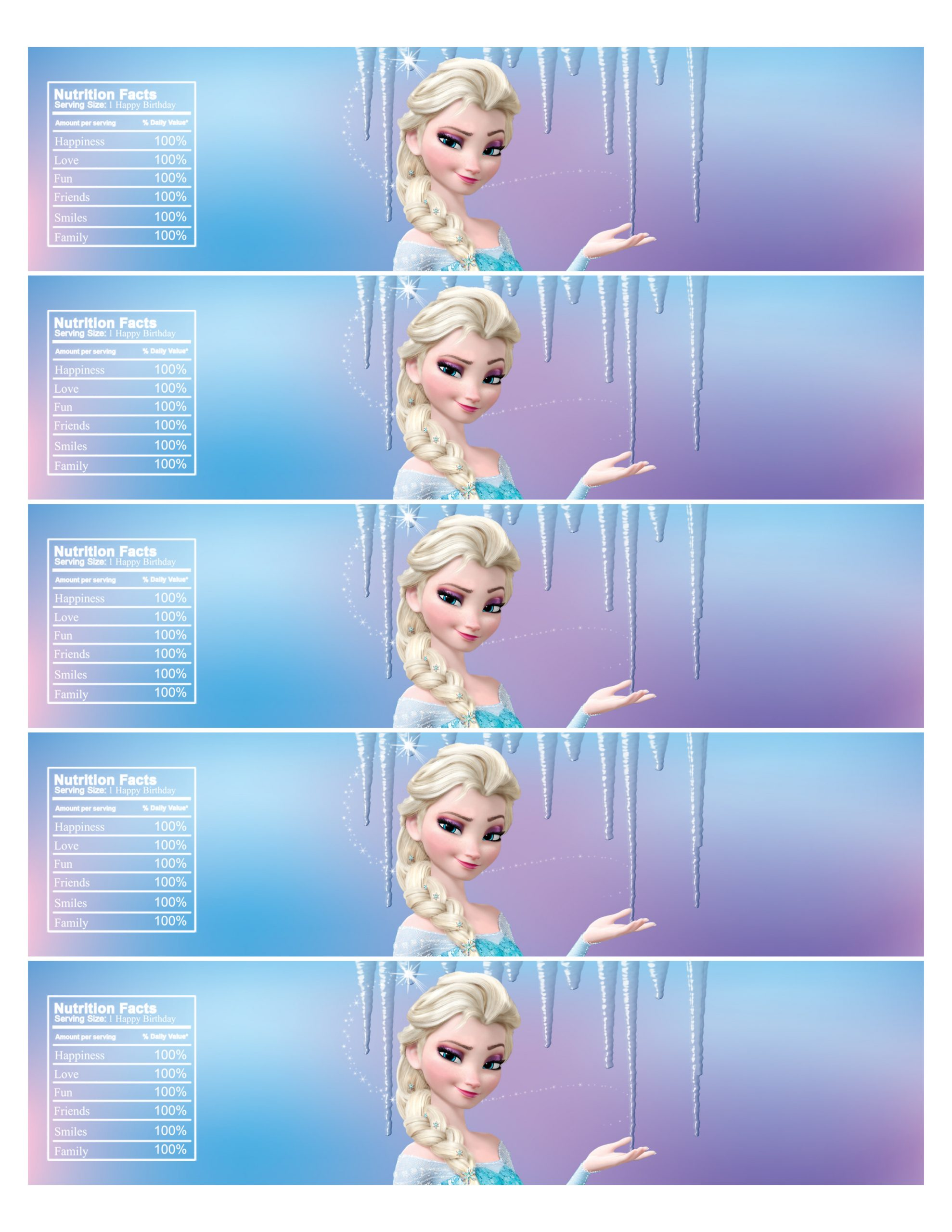 Frozen Invite Template Free
