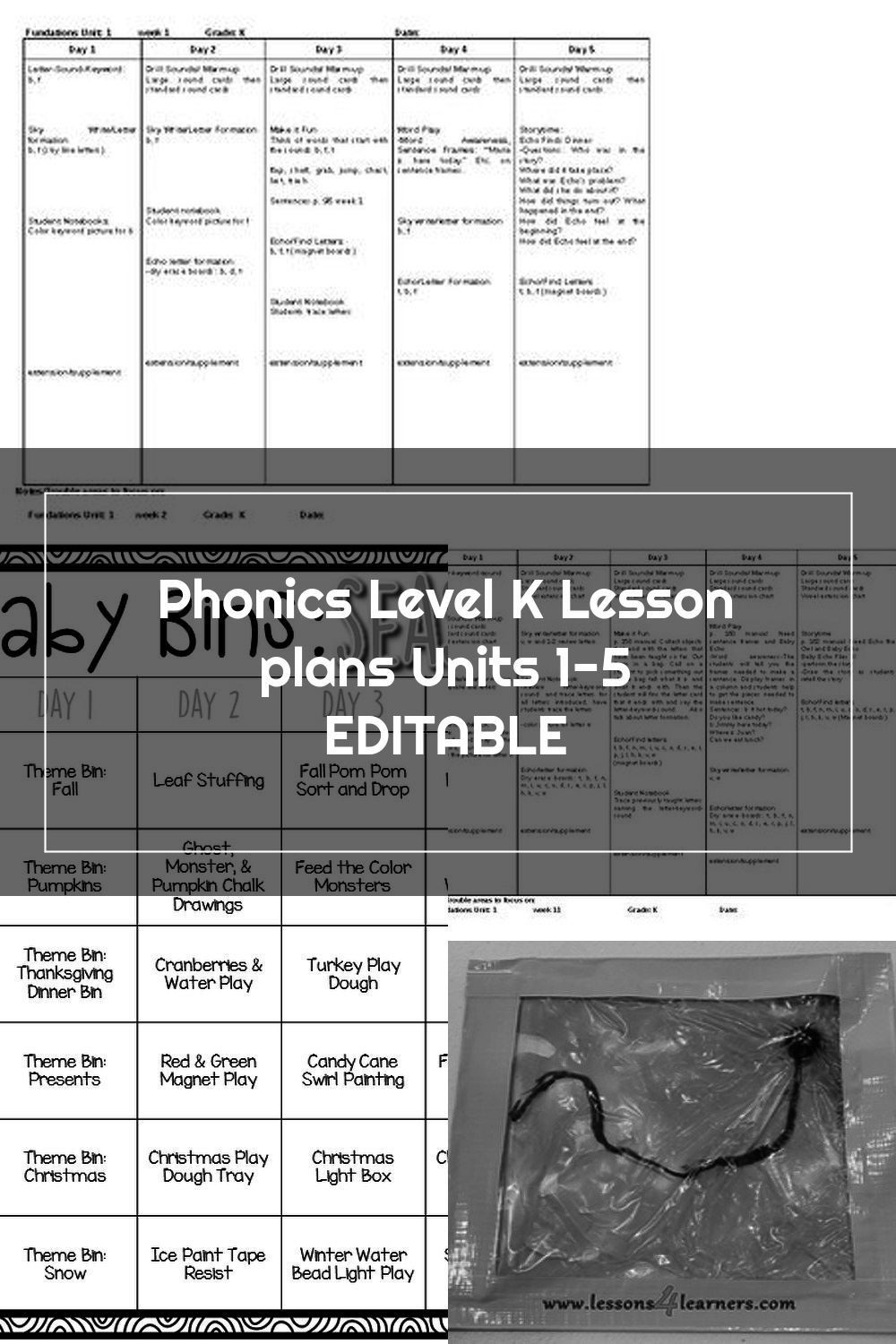 Fundations Lesson Plan Template