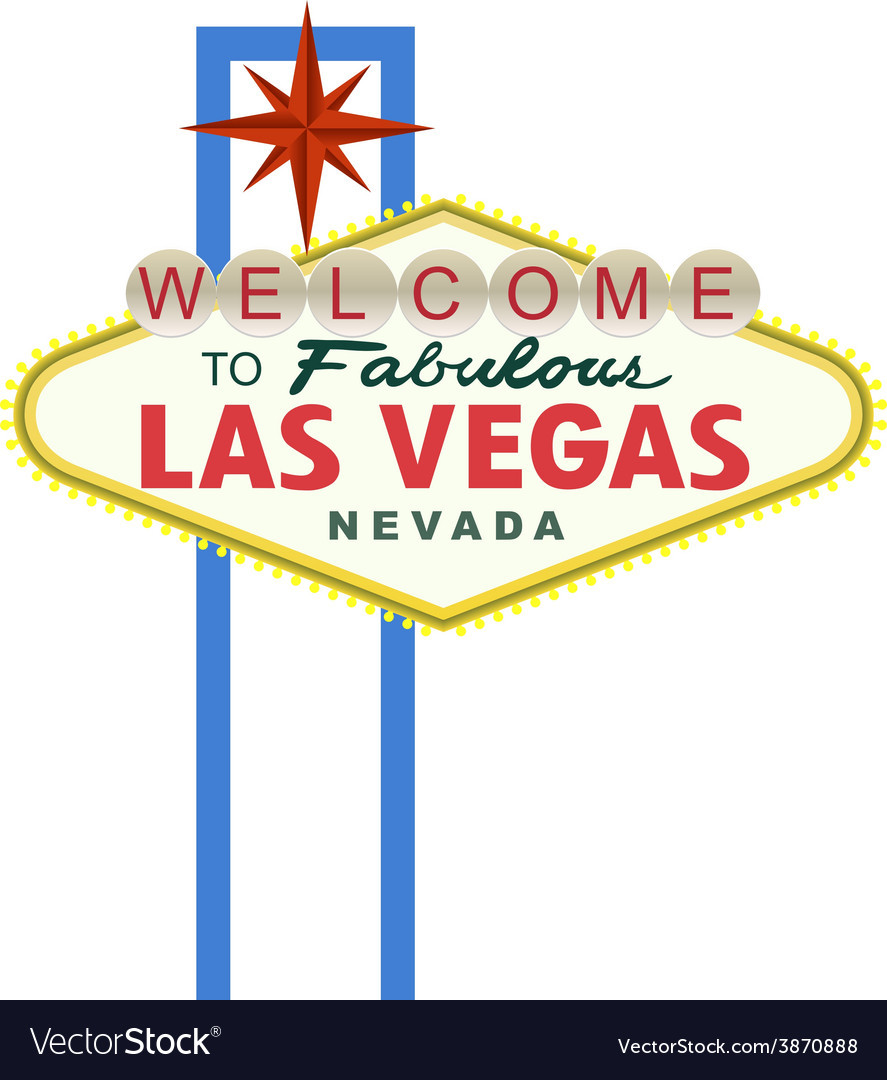Las Vegas Sign Template
