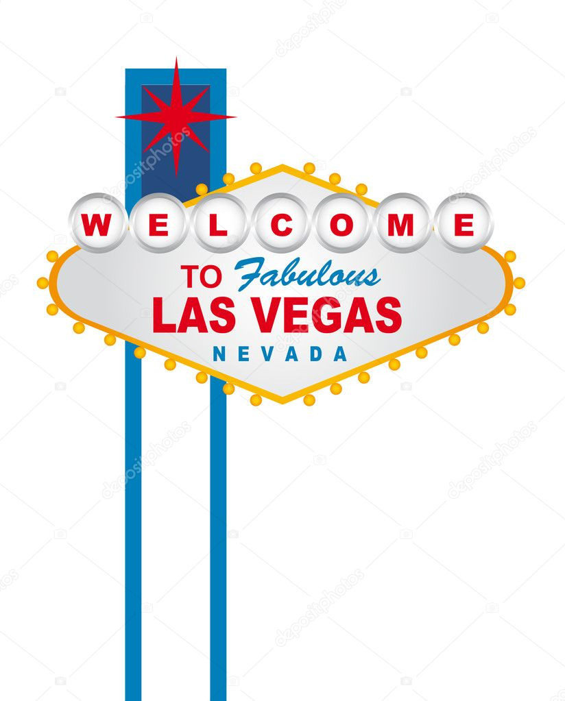 ᐈ Wel e to las vegas sign template stock vectors Royalty