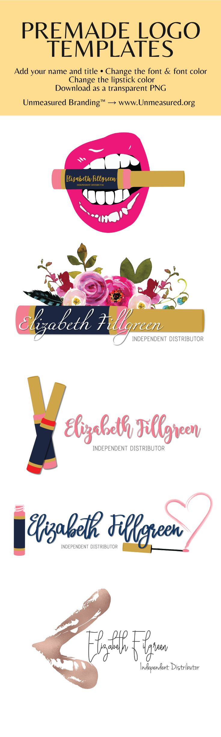 Lipsense Business Card Template