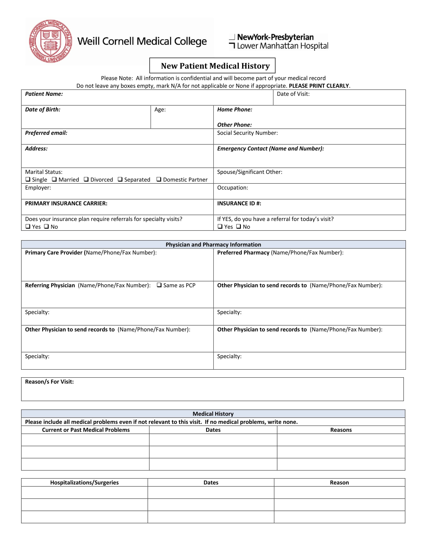 Medical Records Invoice Template