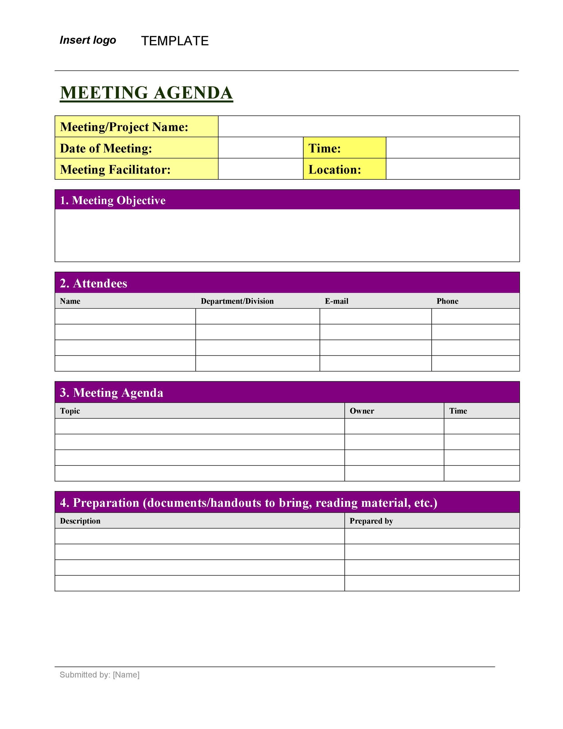 20 Handy Meeting Minutes & Meeting Notes Templates