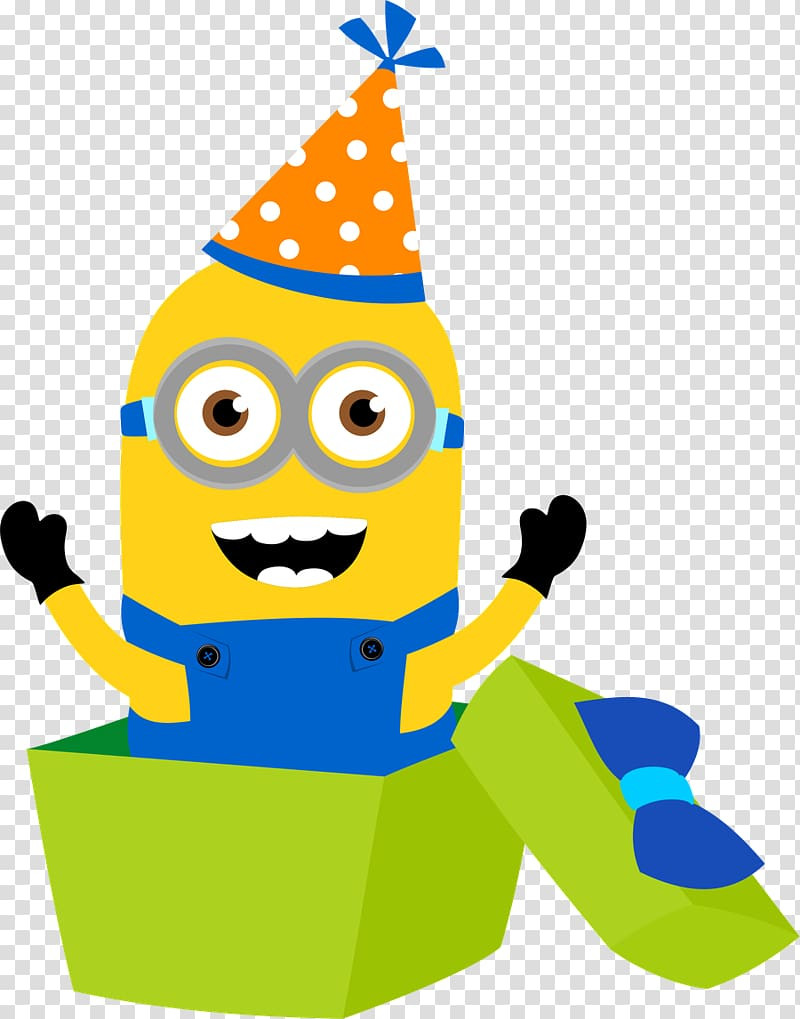 Minion Birthday Card Template
