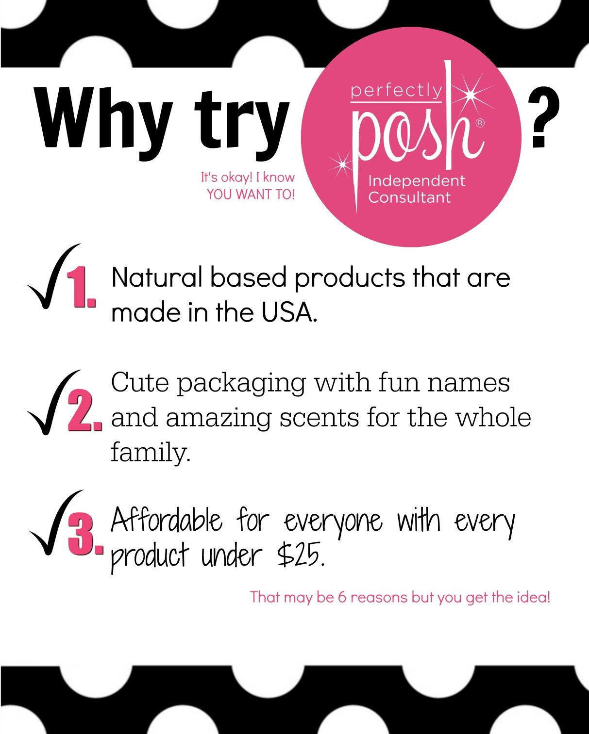 Perfectly Posh Label Template