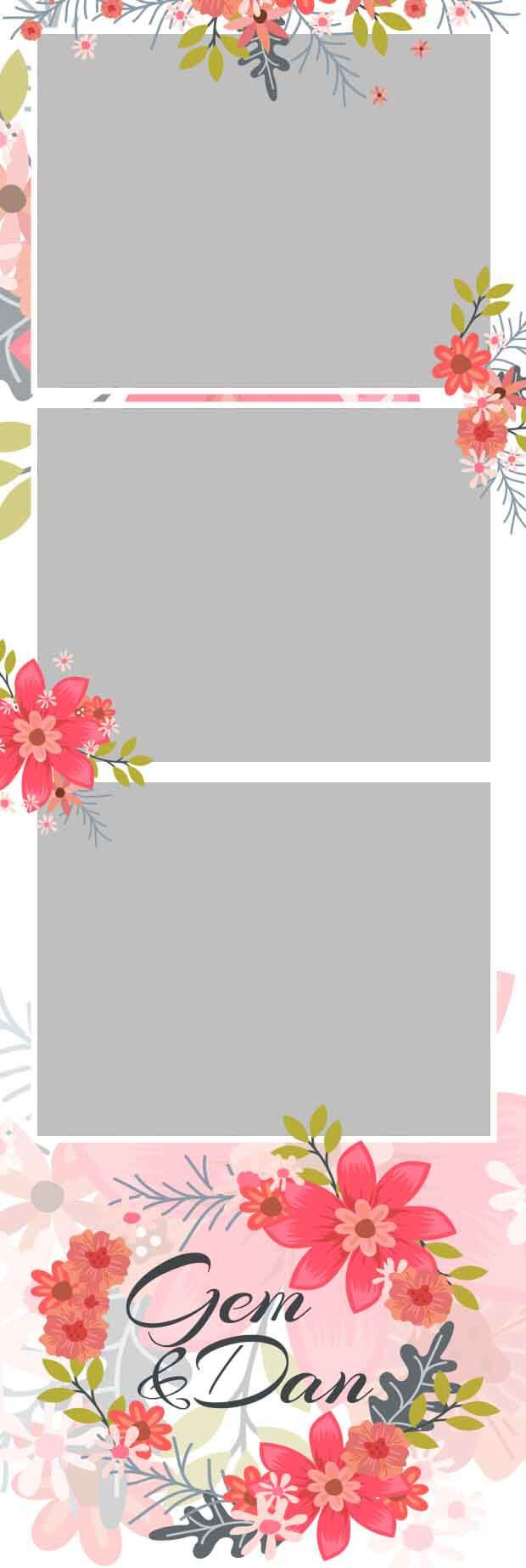 Photo Booth Strip Template