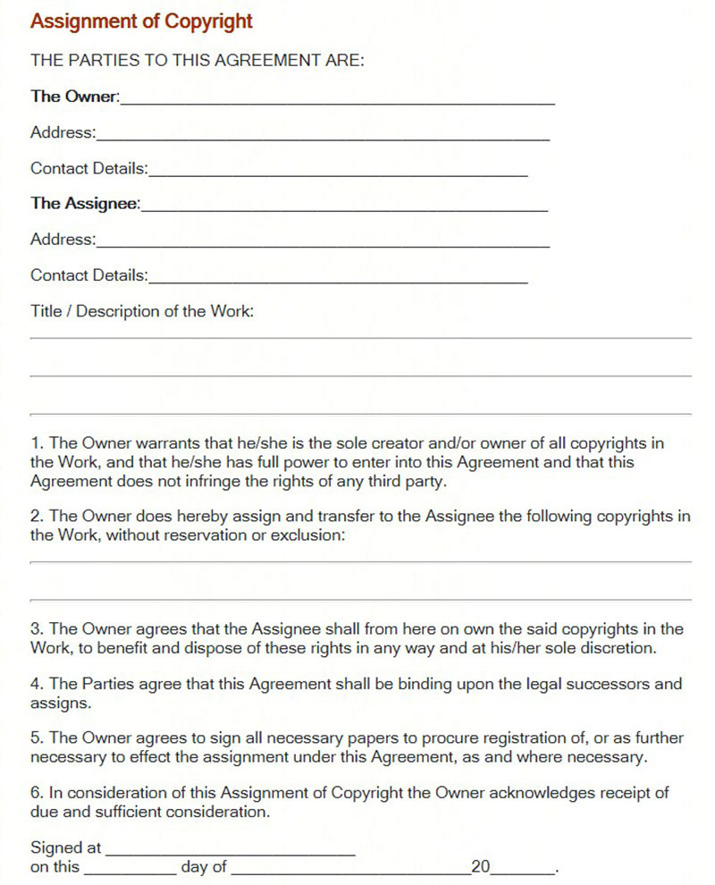 Photography Contract Template Pdf
