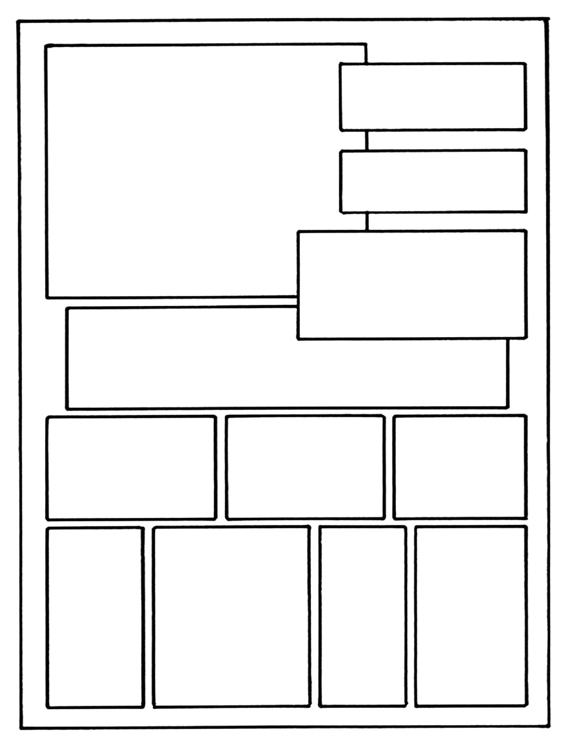 Picture Book Template Printable