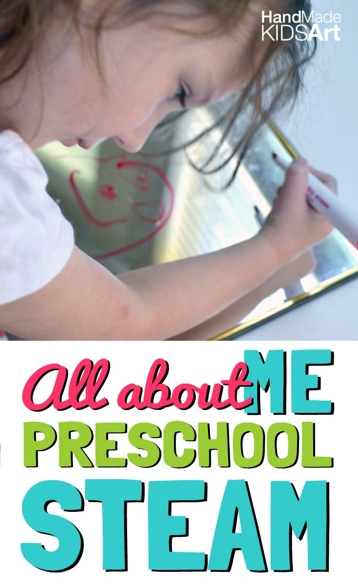 Preschool Self Portrait Template