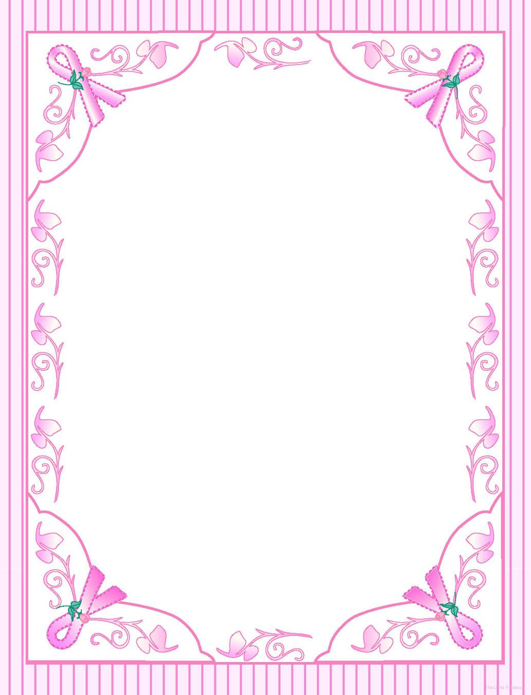 Printable Cancer Ribbon Template