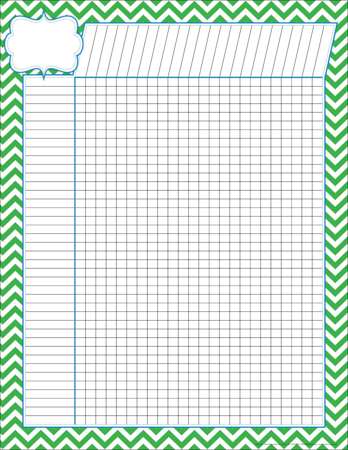 Printable Gradebook Template Editable