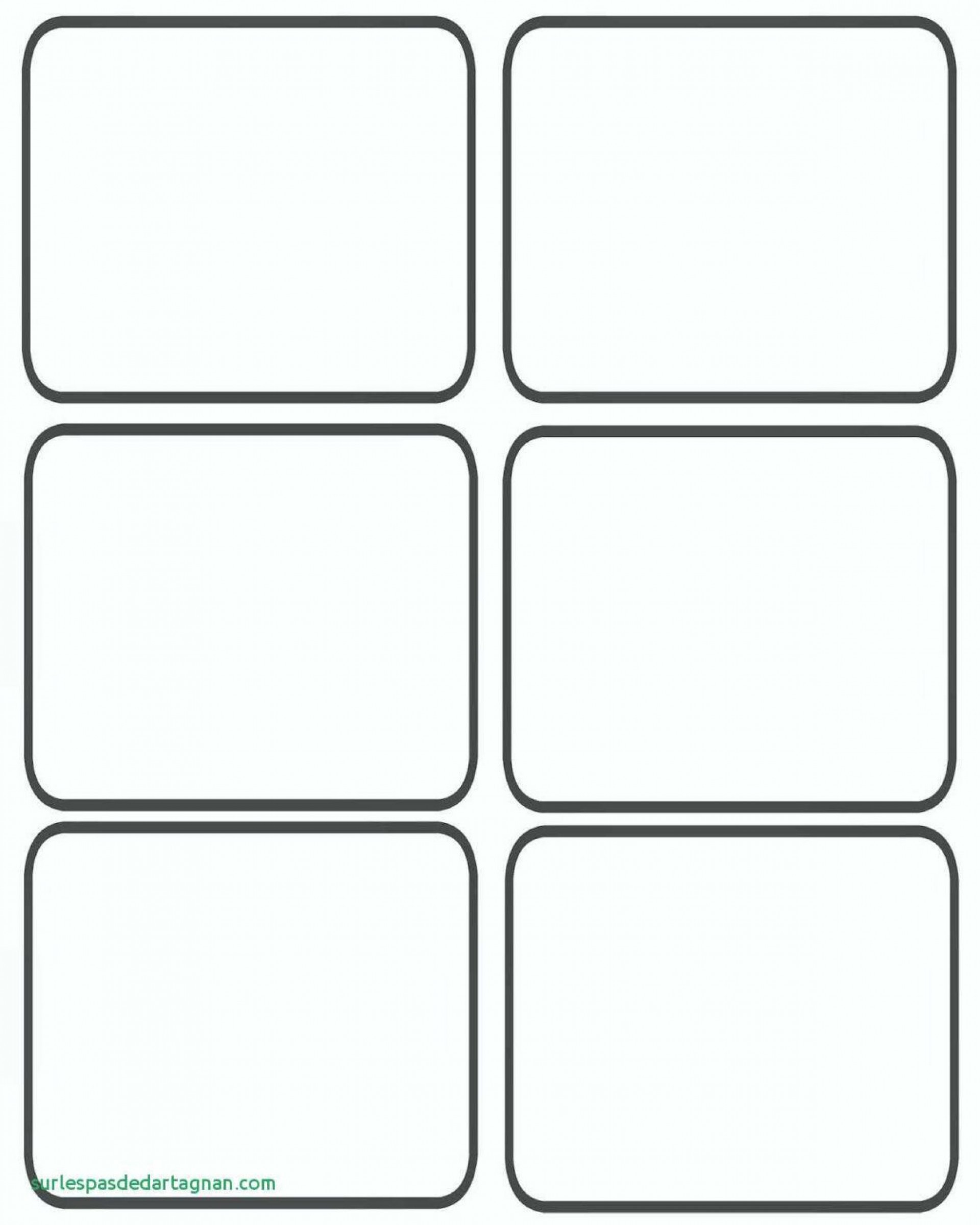 Printable Playing Cards Template