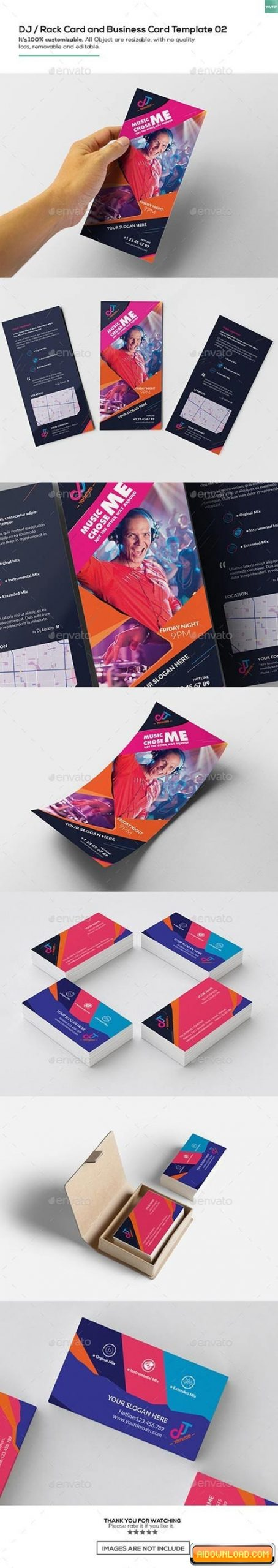 Rack Card Template Indesign